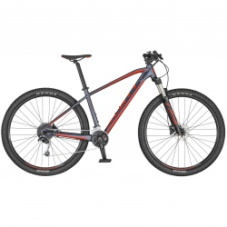 Scott Aspect 740 dark grey/red 2020 L