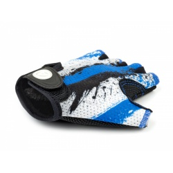 Rukavice Junior X6 modrá/bílá/černá M