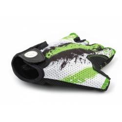 Rukavice Junior X6 zelená/bílá/černá S