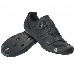 Scott Road Team Boa matt black/gloss black 46