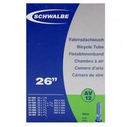 """Schwalbe duše 26"""" AV12 32/47-559/97 auto-ventilek"""