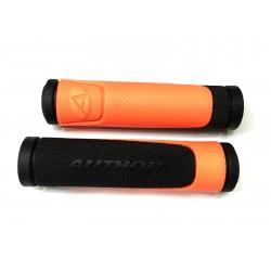 Gripy AGR R600 D3 ! oranžová-neonová/černá
