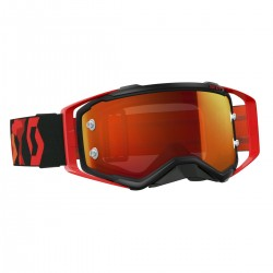 Scott Prospect black/fluo red orange chrome works