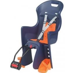 Dětská sedačka POLISPORT Boodie zadní modrá/oranžová