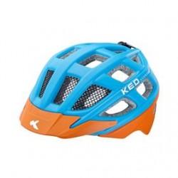 přilba KED Kailu M sv.modrá/oranžová matt 53-59 cm
