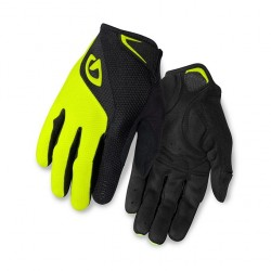 GIRO rukavice BRAVO LF-black/highlight yellow-M