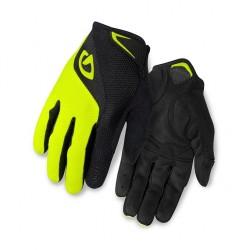 GIRO rukavice BRAVO LF-black/highlight yellow-XXL