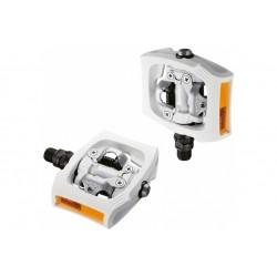 Shimano PD-T400 clickr nášlapné pedály bílé