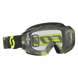 Scott Goggle Hustle MX grey/fluo yellow clear works