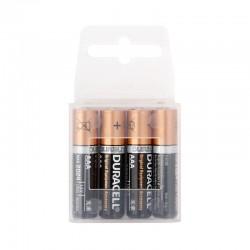 Baterie mikrotužková AAA LR03 Alkalika Duracell blistr 4 ks