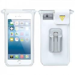 TOPEAK SmartPhone DryBag pro iPhone 6 Plus, 7 Plus, 8 Plus bílá