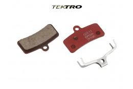Brzdové destičky TK-Q20.11 - Quadiem (2ks) červená
