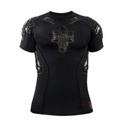 G-Form PRO-X SS Compression Shirt-black/grey-L