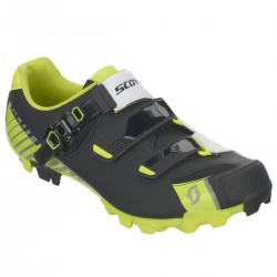 Scott Shoe Mtb Pro matt black/ gloss yellow 45