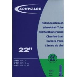 """Schwalbe duše 22"""" AV8A 25/28- 489/501 auto-ventilek"""