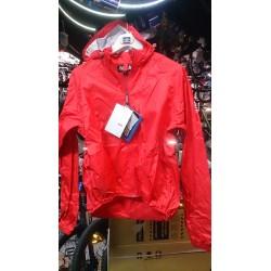 Agu Jacket Light waterproof red XXL