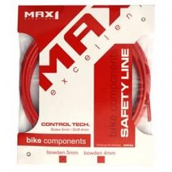 bowden MAX1 5mm červený balení 3m