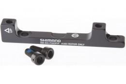 adaptér přední SHIMANO POST/ POST 203mm, černý