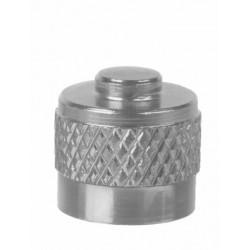 čepička autoventilek stříbrná