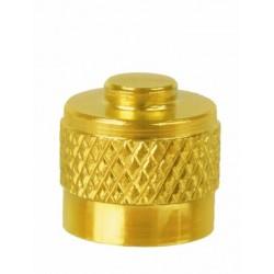 čepička autoventilek zlatá