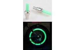 ventilek LED zelený