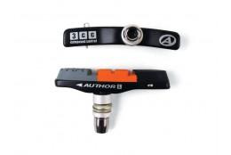 Botky ABS - 3CC - Alu černá/oranžová/šedá