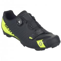 Scott Shoe Mtb Comp Boa matt black/sulphur yellow 43