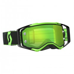 Scott Prospect black/fluo green green chrome works