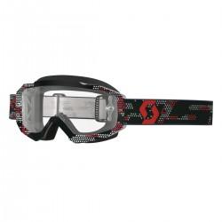 Scott Goggle Hustle MX black/red clear works