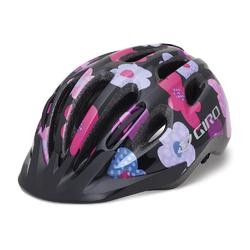 Giro Flurry II-black/ hot pink flowers