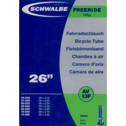 "Schwalbe duše 26"" AV13F Freeride 54/75-559 auto-ventilek"