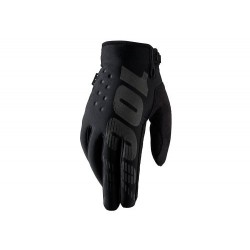 100% dětské rukavice Brisker černé M