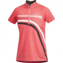 Craft Performance Bike Jersey Stripe cheer W L 1901270-2444