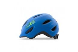 Giro Scamp Mat Blue/Lime S 49-53cm