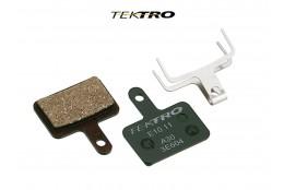 Brzdové destičky TK-E10.11 - AQUILA (2ks) zelená