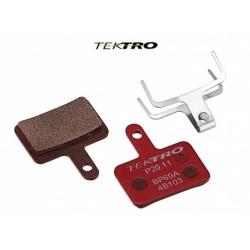 Brzdové destičky TK-P20.11 - Orion (2ks) červená