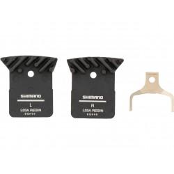 Shimano brzdové destičky L03A s chladičem polymer