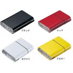 OWLEYE HighLux 5 s USB dobíjením žluté přední světlo