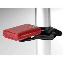 OWLEYE Highlux 5 s USB dobíjením červené zadní světlo