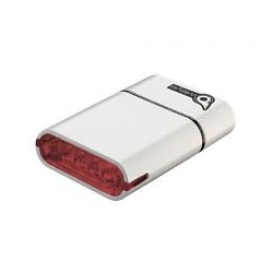 OWLEYE Highlux 5 s USB dobíjením bílé zadní světlo