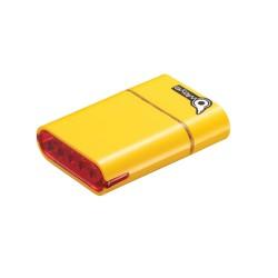 OWLEYE Highlux 5 s USB dobíjením žluté zadní světlo