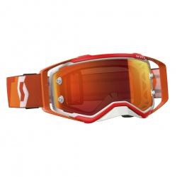 Scott Prospect orange/white orange chrome works