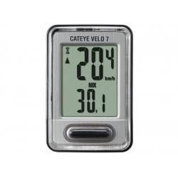 CC Cateye Velo 7 VL520 černá/stříbrná