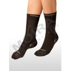 Moira EKS2 ponožky černo-šedá 12-13