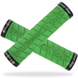 Lizard Skins Lock On Logo lime green