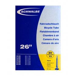"""Schwalbe duše 26""""SV13 Extra Long 559-40/62 60mm"""