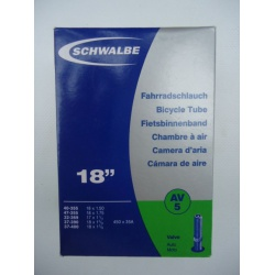 """Schwalbe duše 18"""" AV5 auto-ventilek"""