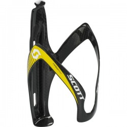 Scott bottle cage Pro Carbon yellow