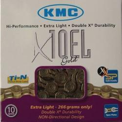 řetěz KMC X-10 EL zlatý