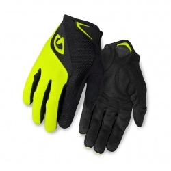 GIRO rukavice BRAVO LF-black/highlight yellow-S